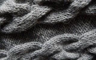 Объемная вязка спицами с интересными узорами