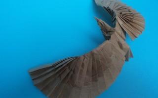 Как сделать орла в технике оригами