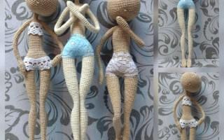 Схемы кукол амигуруми крючком