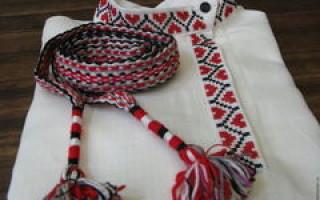 Русская народная рубаха для мужчин за пару дней