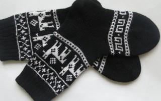 Скандинавские узоры для вязания спицами со схемами для интересных зимних вещей