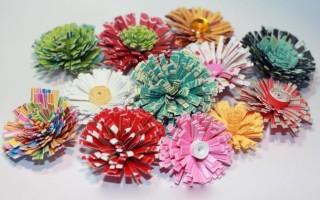 Квиллинг картины цветов
