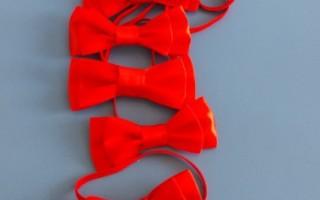 Мастер-класс по галстуку-бабочке своими руками в подарок