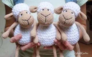 Вязание игрушек спицами