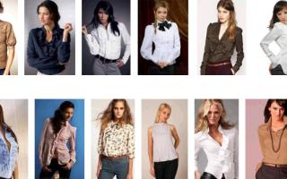 Как сшить женскую блузку своими руками