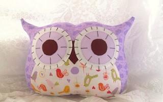 Подушка-игрушка своими руками для забавного отхода ко сну