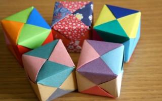 Как сделать куб в технике оригами