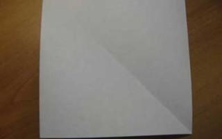 Пароход из бумаги