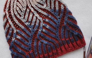 Техника вязания бриошь