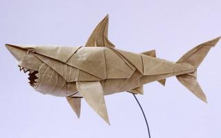 Животные оригами из бумаги