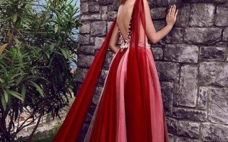 Платье из шифона в нескольких вариантах