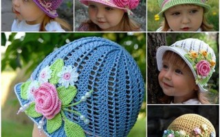 Летние панамки для девочек крючком, которые придутся по вкусу юным модницам