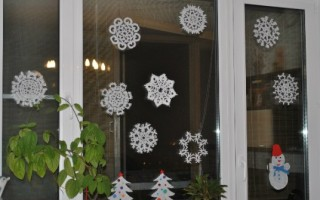 Бумажные снежинки своими руками со схемами