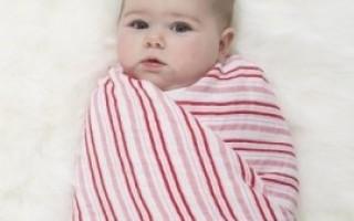 Пеленка для новорожденных своими руками
