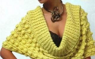 Ажурные пуловеры спицами на примере моделей для женщин