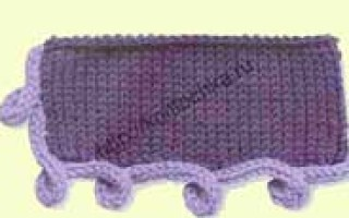 Вязание каймы спицами, схемы